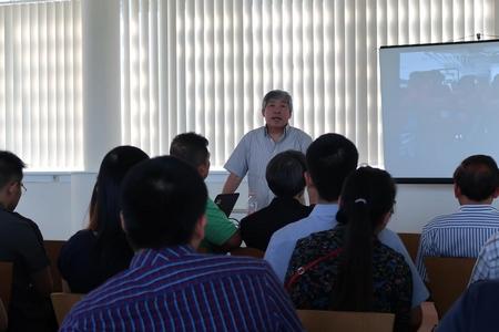 TS., dịch giả Giáp Văn Chung chia sẻ cảm nhận sau chuyến thăm quần đảo Trường Sa