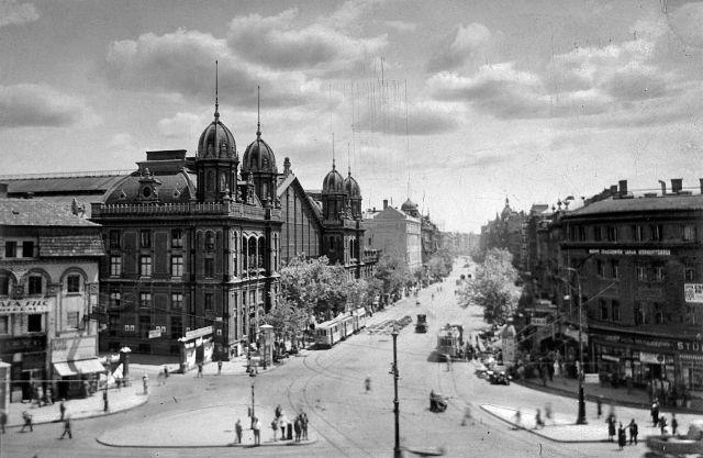 Đại lộ Vòng cung lớn và Ga Tây, thời Đế chế Áo - Hung - Ảnh tư liệu