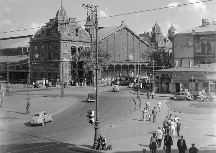 Ga Tây, năm 1950 - Ảnh tư liệu