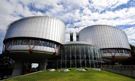 Trụ sở Tòa án Nhân quyền Châu Âu tại TP. Strasbourg - Ảnh: Johanna Leguerre (AFP)