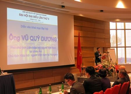 Ông Vũ Quý Dương, Chủ tịch nhiệm kỳ 2008-2017, tiếp tục được bầu trong nhiệm kỳ mới