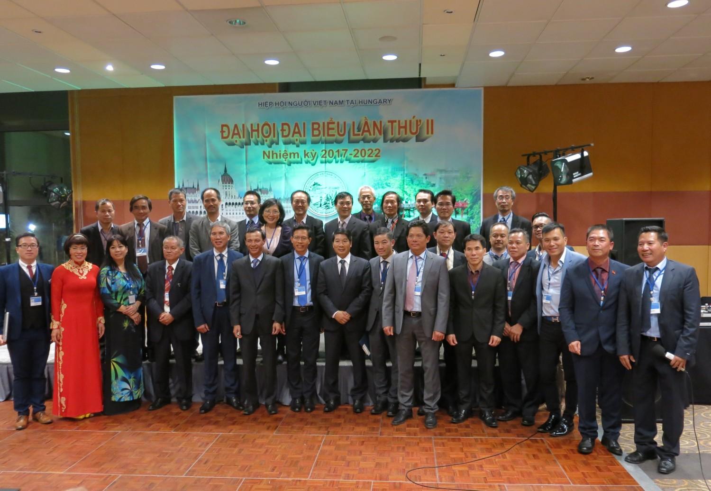 Ban Chấp hành mới nhiệm kỳ 2017-2022 của Hiệp hội