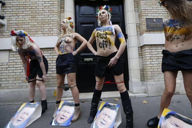 """Nhóm nữ quyền """"Femen"""" với những hành vi """"quá trớn"""" của họ - Ảnh: Internet"""