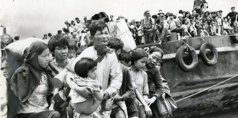 Hành trình tìm tự do của thuyền nhân Việt - Ảnh tư liệu