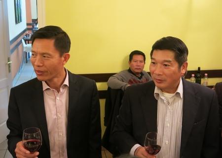 Chia tay với Đại sứ Nguyễn Thanh Tuấn