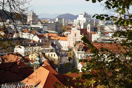 Thành phố tình yêu Ljubljana