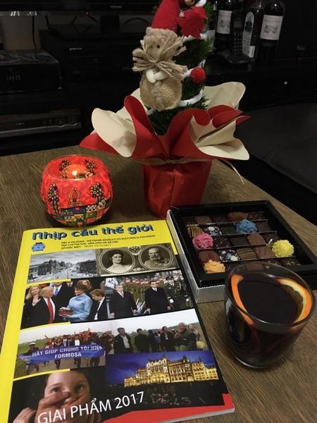 Món quà trong dịp Giáng sinh - Ảnh: Trần Thùy Dương