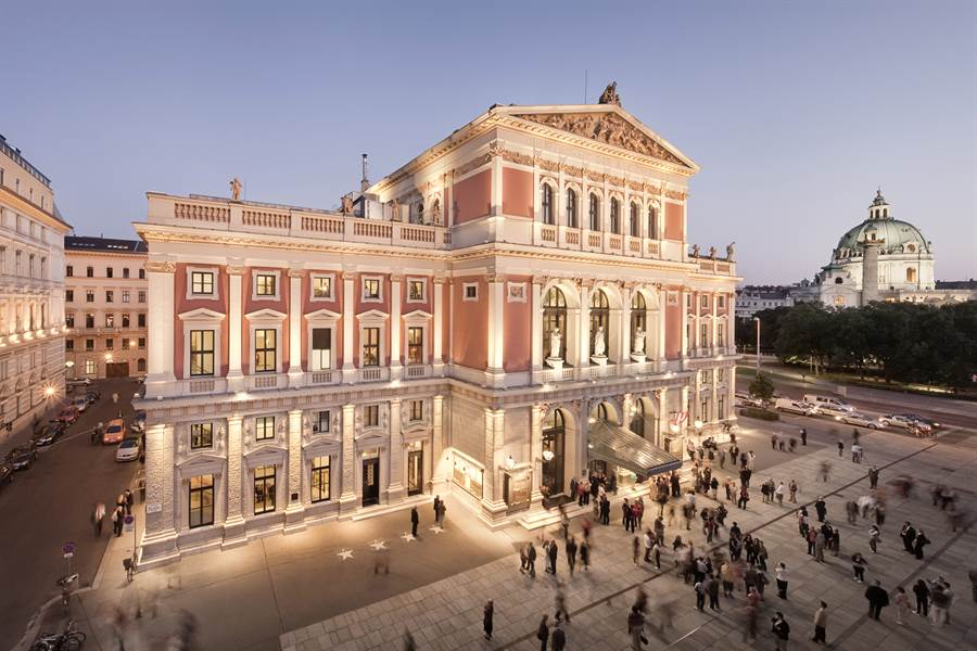 """Musicverein, """"thánh địa"""" của nhạc cổ điển ở Vienna"""