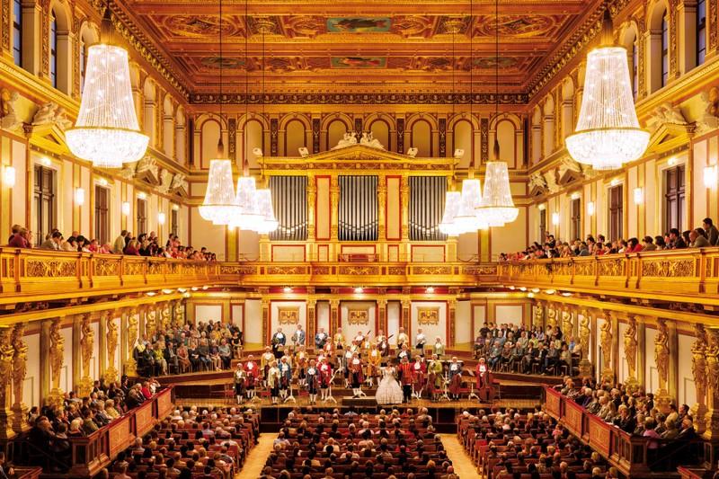 """Hội trường Vàng, nơi """"nhạc cụ cũng ánh lên sắc vàng"""""""