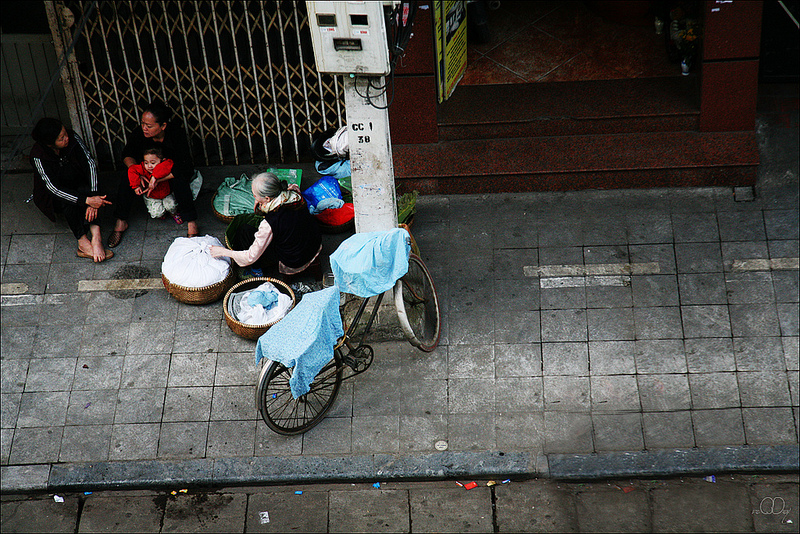 Góc phố Bát Đàn, Hà Nội - Ảnh: vnphoto.net