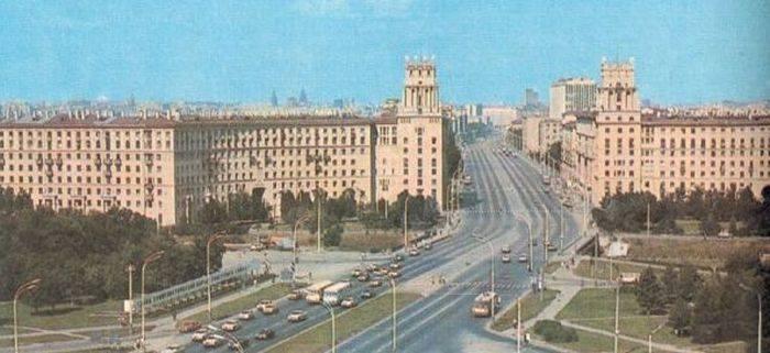 Thủ đô Moscow thập niên 80 thế kỷ trước