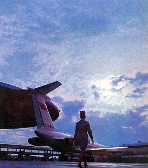 Aeroflot, hãng hàng không duy nhất của Liên Xô, đồng thời là một trong những hãng hàng không lớn nhất thế giới vào thời thập niên 80 thế kỷ trước