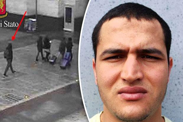 Thủ phạm trong vụ khủng bố - Ảnh: dailystar.co.uk