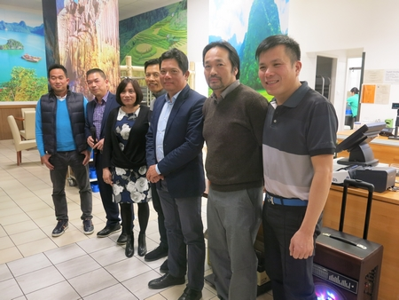 Các thành viên Ban Chấp hành mới của Hội Việt Golf