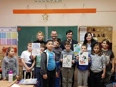 Đợt từ thiện mang nhiều ý nghĩa của người Việt tại Hungary