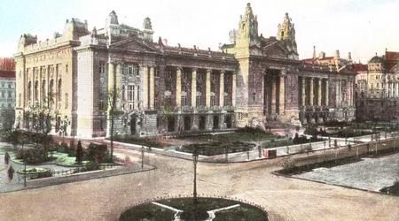 Trụ sở Sở Giao dịch Chứng khoán Budapest (năm 1914) - Ảnh tư liệu