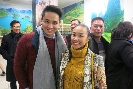 Ca sĩ Đoan Trang giao lưu cùng cộng đồng - Ảnh: Trần Lê