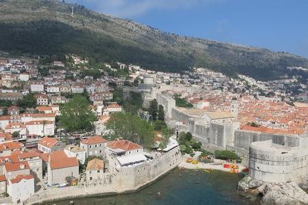 Cổ thành Dubrovnik hùng vĩ nhìn từ trên cao