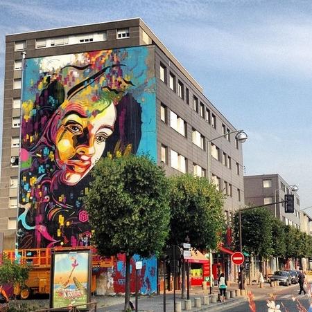 Nghệ thuật đường phố tại Vitry