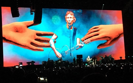 Roger Waters tại Budapest, 2-5-2018