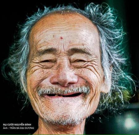 Nhà thơ Trần Vàng Sao - Ảnh: Trần Bá Đại Dương