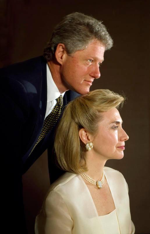 Bill & Hillary Clinton (1993)