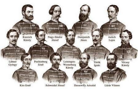 Mười ba liệt sĩ ở vùng Arad