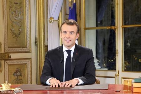 Tổng thống Emmanuel Macron, ngày 10-12-2018 - Ảnh: Pool/ Reuters