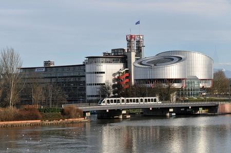 Trụ sở Tòa án Nhân quyền Châu Âu tại TP. Strasbourg - Ảnh: Internet