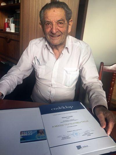 Ký giả Róbert László (1926-2019)