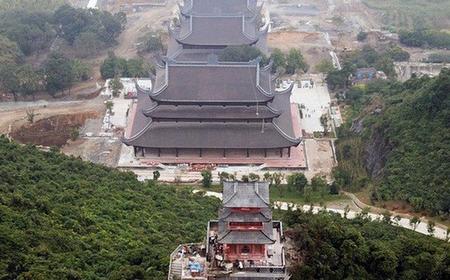 Quần thể chùa Tam Chúc ở Ba Sao, Hà Nam sau khi hoàn tất sẽ là ngôi chùa lớn nhất Việt Nam - chùa to để làm gì?