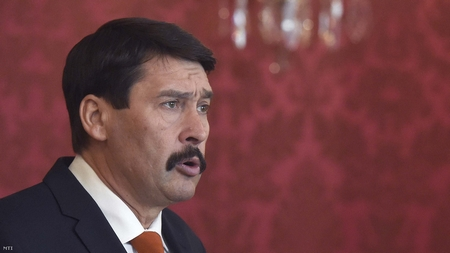 Tổng thống Hungary Áder János - Ảnh: MTI