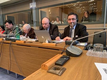 Nhà báo Lange László tham gia kỳ hội nghị - Ảnh do nhân vật cung cấp