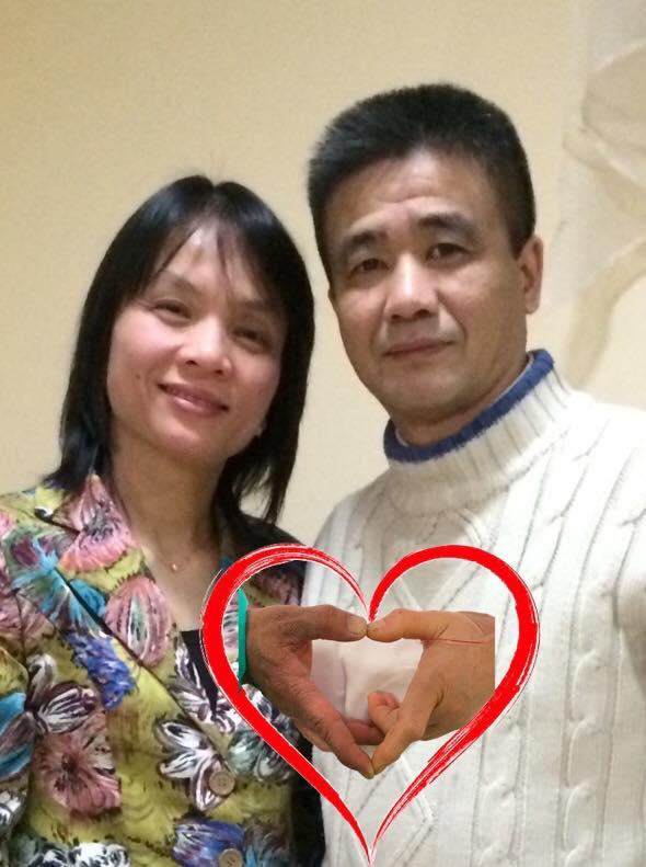 Tình yêu trải qua bao thăng trầm của cuộc đời... - Ảnh: Facebook của anh Đỗ Hồng Quang