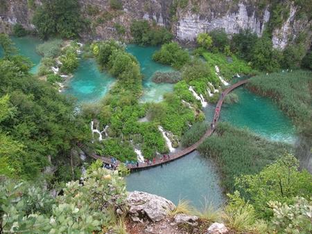 """""""Thiên đường hạ giới"""", Công viên Quốc gia Hồ Plitvice, Cộng hòa Croatia - Ảnh: Internet"""