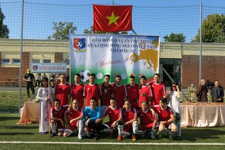 Đội chủ nhà của người Việt tại Hungary