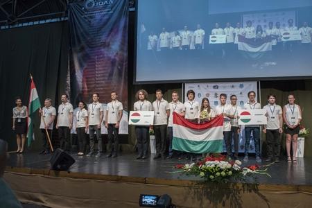 Đoàn Hungary tại cuộc thi