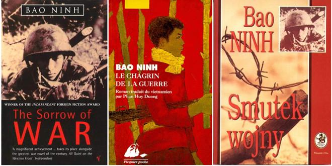 """Một số ẩn bản tiếng ngoại quốc của tiểu thuyết """"Nỗi buồn chiến tranh"""""""