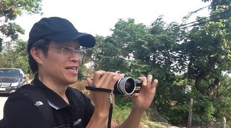 """Nhà """"dân báo"""", blogger nổi tiếng Nguyễn Hữu Vinh - Anh Ba Sàm - Ảnh tư liệu"""