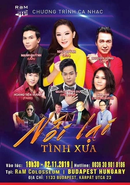 Poster của đêm nhạc - Ảnh: Ban Tổ chức