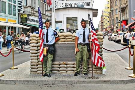 Không còn những hình ảnh như thế này tại Checkpoint Charlie