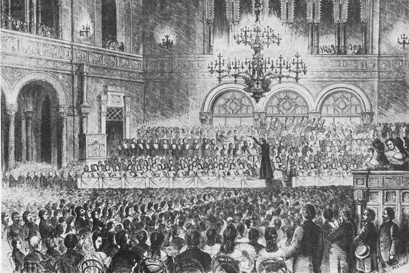 Liszt Ferenc tại nhà hát Pesti Vígadó (1839) - Ảnh tư liệu