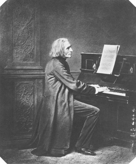 Nhà soạn nhạc, danh cầm Hungary Liszt Ferenc (1811-1886)