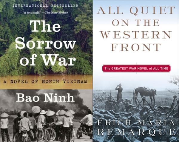 """""""Nỗi Buồn Chiến Tranh"""" thường được so sán với tác phẩm kinh điển về đề tài chiến tranh """"Mặt Trận Miền Tây Vẫn Yên Tĩnh"""""""