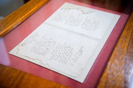 """Bản thảo viết tay của """"Hymnus"""", bản hùng ca và bi ca """"từ những thế kỷ giông bão của dân tộc Hung"""", một trong những hiện vật quý báu nhất được cất giữ tại Thư viện Quốc gia Széchényi (Hungary) - Ảnh: oszk.hu"""
