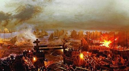 Đại chiến Xích Bích - Ảnh: Internet