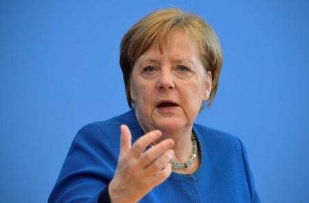 Thủ tướng Angela Merkel - Ảnh: liberation.fr