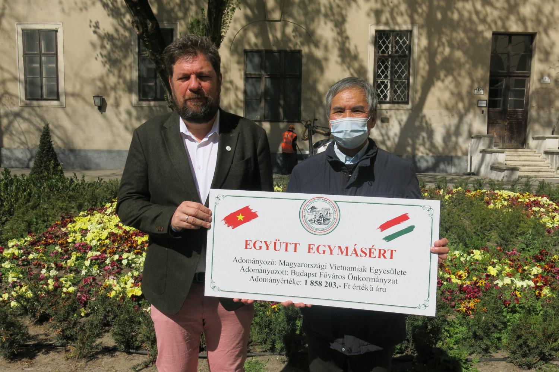 TS. Phùng Kim San và Phó Thị trưởng TP. Budapest Kerpel-Fronius Gábor