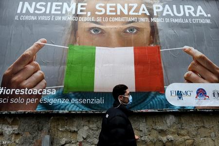Khẩu trang đã được quy định bắt buộc đeo ở vài nước Châu Âu - Ảnh: Carlo Hermann (AFP)