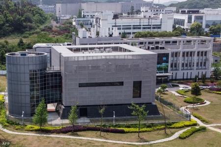 Viện Virus học Vũ Hán (tỉnh Hồ Bắc) nơi có Phòng thí nghiệm P4 khét tiếng - Ảnh: Hector Retamal (AFP)